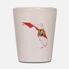Florida Flag Shot Glass