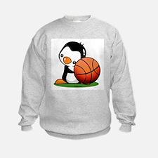 Basketball Penguin Sweatshirt