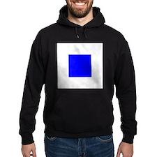 Nautical Flag Code Sierra Hoodie