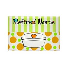 retired nurse official blanket Rectangle Magnet
