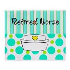 Retired nurse official blanket 2 Throw Blanket