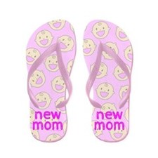 New Mom To Girl Flip Flops