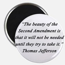 Jefferson - Second Amendment Magnets