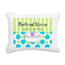 Retired Nurse Offician Nap pillow 1 Rectangular Ca