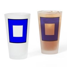 Nautical Flag Code Papa Drinking Glass