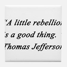 Jefferson - Little Rebellion Tile Coaster