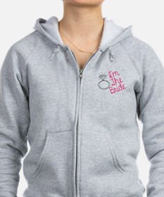 Im the bride Zip Hoodie