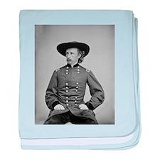 George A. Custer baby blanket