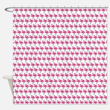 Dancing Flamingos Shower Curtain