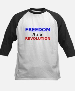Freedom its a Revolution Baseball Jersey