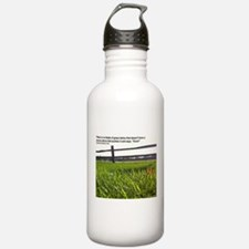 Push and Grow quote Water Bottle
