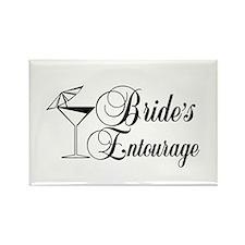 Brides Entourage with Martini Glass Umbrella Recta