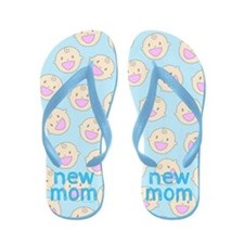 New Mom To Boy Flip Flops