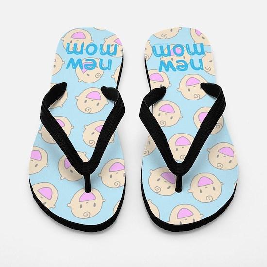 New Mom To Boy Flip Flops