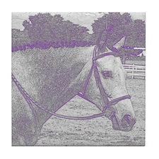 English Horse Tile Coaster