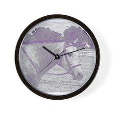 English Horse Wall Clock