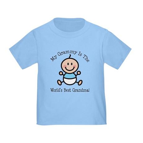 Best Grammy Baby Boy Stick Figure Toddler T-Shirt