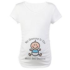 Best Grammy Baby Boy Stick Figure Shirt