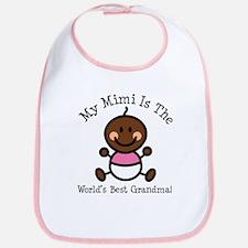 Best Mimi Ethnic Baby Girl Bib