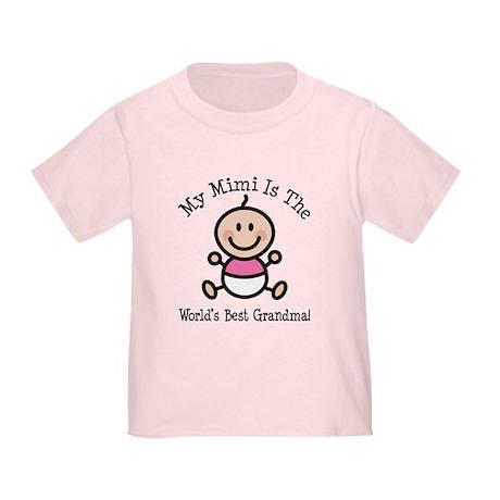 Best Mimi Baby Girl Stick Figure Toddler T-Shirt