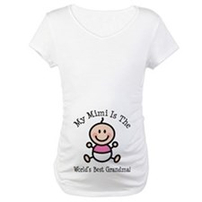 Best Mimi Baby Girl Stick Figure Shirt