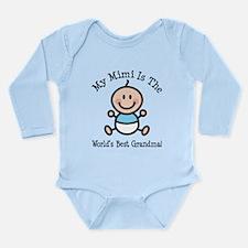 Best Mimi Baby Boy Stick Figure Long Sleeve Infant