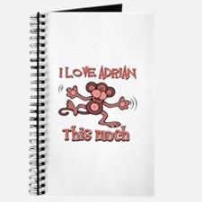 I love Adrian this much Journal