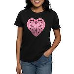 Bijii Heartknot Women's Dark T-Shirt