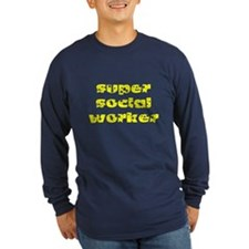 super social worker (Yellow) T