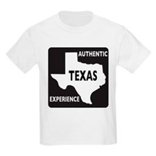 Authentic Texas Experience white-stroked T-Shirt