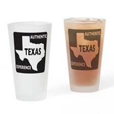 Authentic Texas Experience white-stroked Drinking