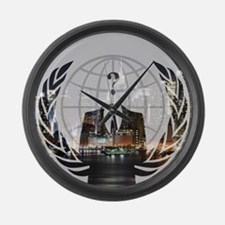 Anon Large Wall Clock