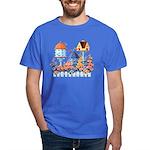 Birdhouses Dark T-Shirt
