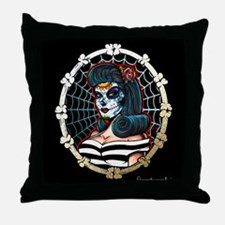 BLACK BETTY Throw Pillow