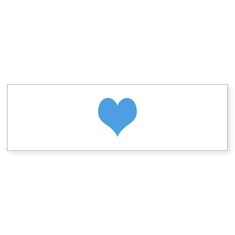 heartfelt Bumper Sticker