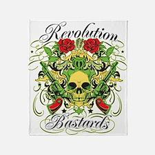 Revolution Bastards Throw Blanket