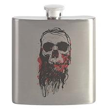 Blood Skull Flask