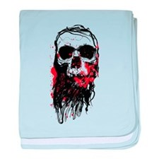 Blood Skull baby blanket