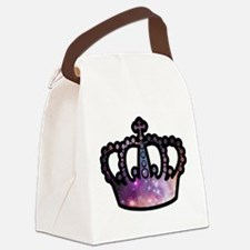 Cosmic Crown Canvas Lunch Bag
