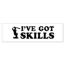 I've got Cricket skills Bumper Sticker