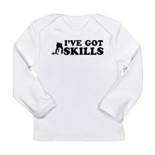 I've got Curling skills Long Sleeve Infant T-Shirt