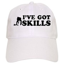 I've got Curling skills Baseball Cap