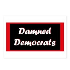 Damned Democrats Postcards (Package of 8)