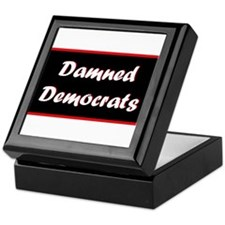 Damned Democrats Keepsake Box