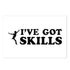 I've got Figure Skate skills Postcards (Package of