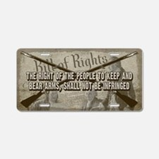 Right of the People Aluminum License Plate