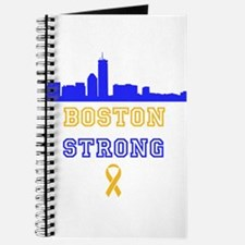 Boston Strong Skyline Blue and Gold Journal