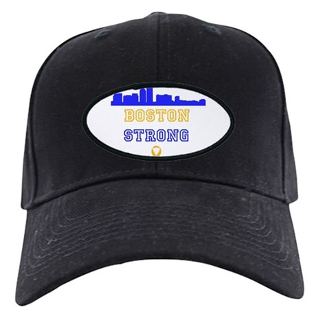 Boston Strong Skyline Blue and Gold Baseball Hat
