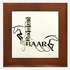 Raising the Baar Framed Tile