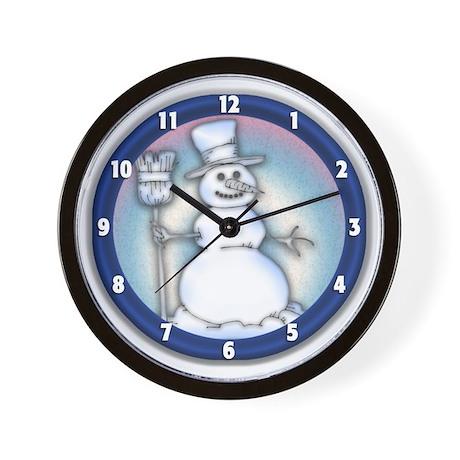 The Snowguy Wallclock